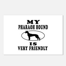 My Pharaoh Hound Is Very Friendly Postcards (Packa
