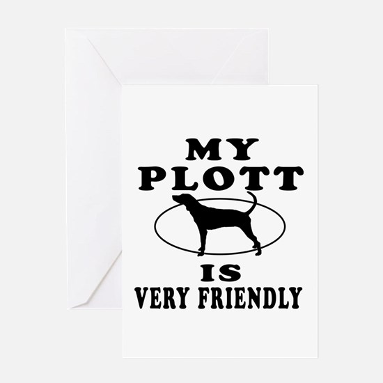 My Plott Is Very Friendly Greeting Card
