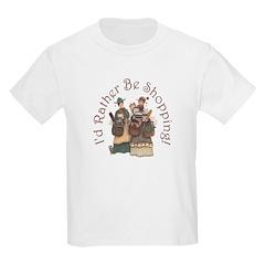 I'd Rather Be Shopping! Kids T-Shirt