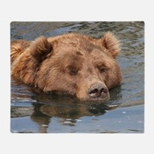 Bear004 Throw Blanket