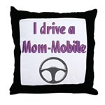 Mom Mobile Throw Pillow