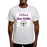 Mom Mobile Ash Grey T-Shirt