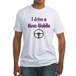 Mom Mobile Fitted T-Shirt