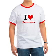 T-Shirt I Love Rotterdam