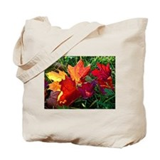Fallen autumn leaves Tote Bag