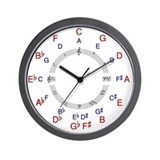 Circle of fifths Wall Clocks