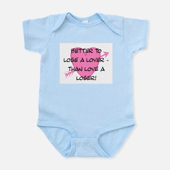 LOSE A LOVER Infant Bodysuit
