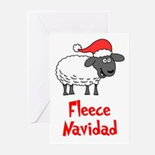 Fleece Navidad Greeting Cards (Pk Of 20)