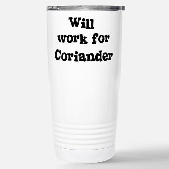 Will work for Coriander Mugs