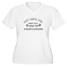 Cool American wirehair designs T-Shirt
