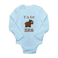 Y Is For Yak Body Suit
