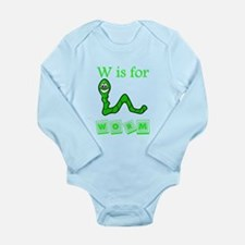 W Is For Worm Body Suit