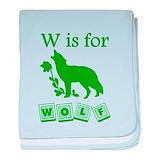Baby wolf Blanket