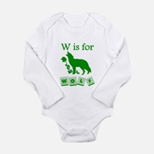 W Is For Wolf Body Suit