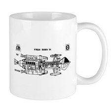 Space: 1999 - Hawk Mark IX Mug