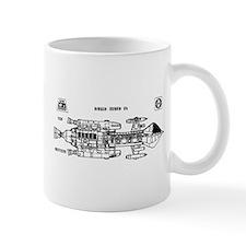 Space: 1999 - Hawk Mark IX Mug
