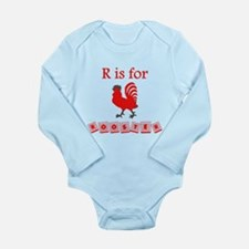 R Is For Rooster Body Suit