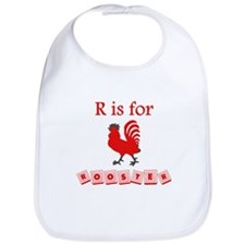 R Is For Rooster Bib