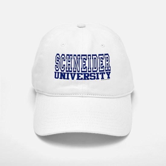 SCHNEIDER University Baseball Baseball Cap
