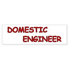 Domestic Engineer Bumper Sticker
