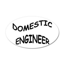 Domestic Engineer Wall Decal