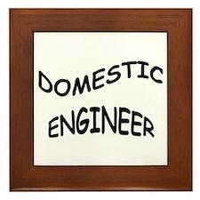 Domestic Engineer Framed Tile