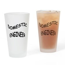 Domestic Engineer Drinking Glass