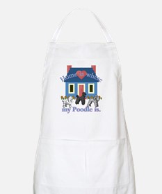 Poodle Lovers Gifts BBQ Apron