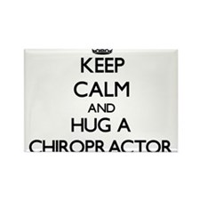 Keep Calm and Hug a Chiropractor Magnets