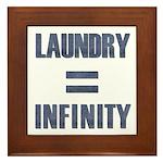 Laundry = Infinity Framed Tile