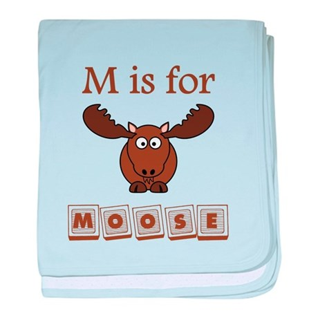 M Is For Moose baby bl...