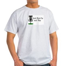 Just Shut Up And Play Light Color Shirt