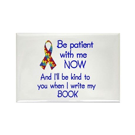 Autism Patience Rectangle Magnet (10 pack)