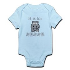 H Is For Hippo Body Suit