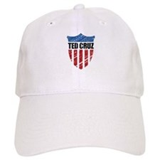 Ted Cruz Patriot Shield Baseball Baseball Cap