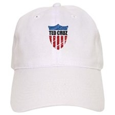 Ted Cruz Patriot Shield Baseball Hat