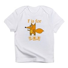 F Is For Fox Infant T-Shirt