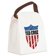 Ted Cruz Patriot Shield Canvas Lunch Bag