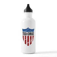 Ted Cruz Patriot Shield Water Bottle