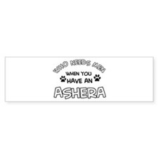 Cool Ashera designs Bumper Sticker