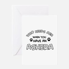 Cool Ashera designs Greeting Card