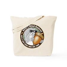 Blind Squirrel Tote Bag