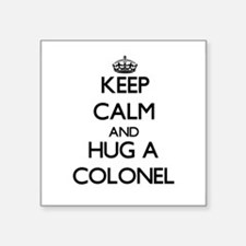 Keep Calm and Hug a Colonel Sticker