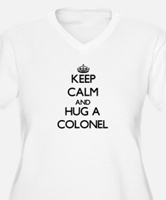 Keep Calm and Hug a Colonel Plus Size T-Shirt