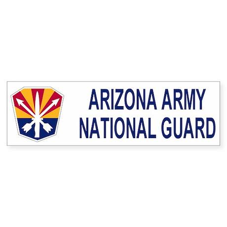 Arizona ARNG Bumper Sticker 2