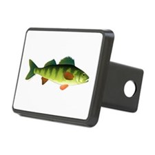 Yellow perch 2 Hitch Cover
