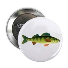 """Yellow perch 2 2.25"""" Button (10 pack)"""