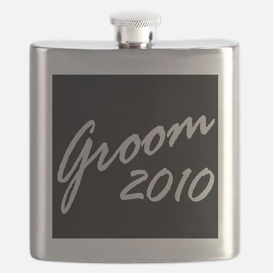 Blk Groom 10 Flask