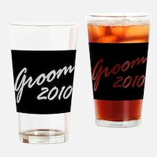 Blk Groom 10 Drinking Glass
