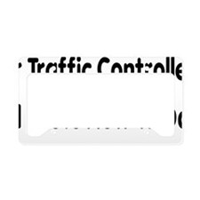Air Traffic Controllers Tell  License Plate Holder
